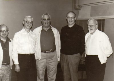 Edward N Reiss 2nd from Left Reunion June 1989